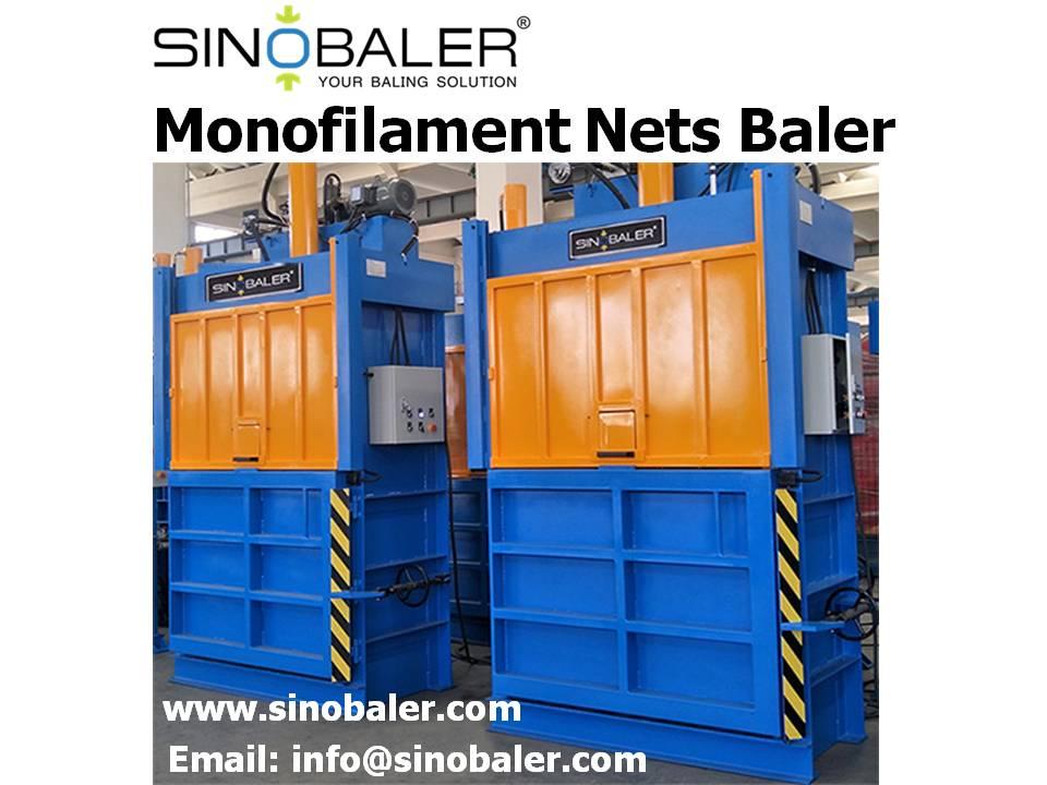 Monofilament Nets Baler Machine