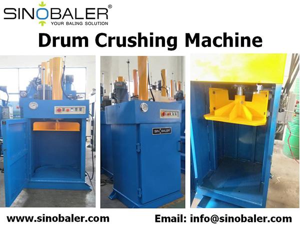 Hydraulic Drum Crushing Machine