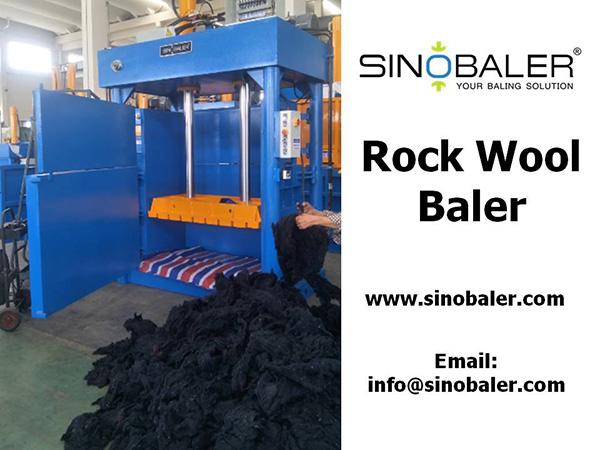 Rock Wool Baler Machine