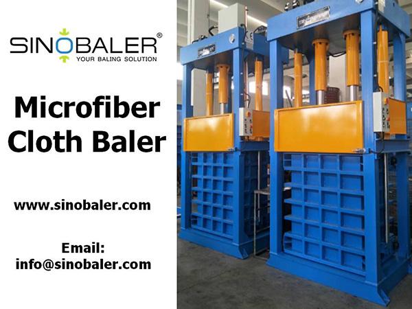 Microfiber Cloth Baler Machine