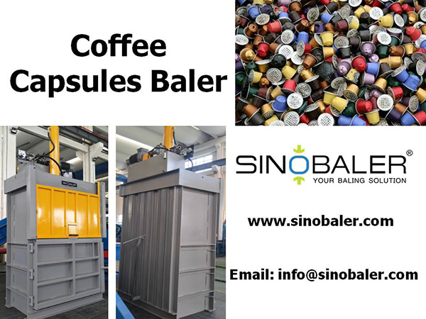 Coffee Capsules Baler Machine