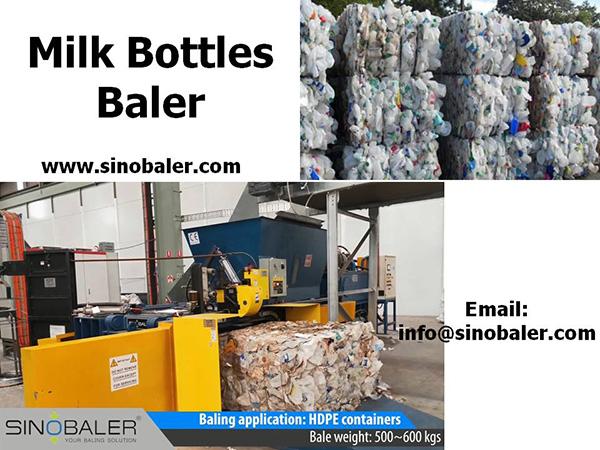 Milk Bottles Baler Machine