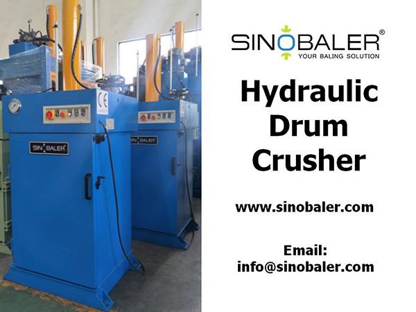 Hydraulic Drum Crusher