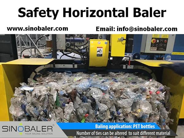 Safety Horizontal Baler And Safety Vertical Baler