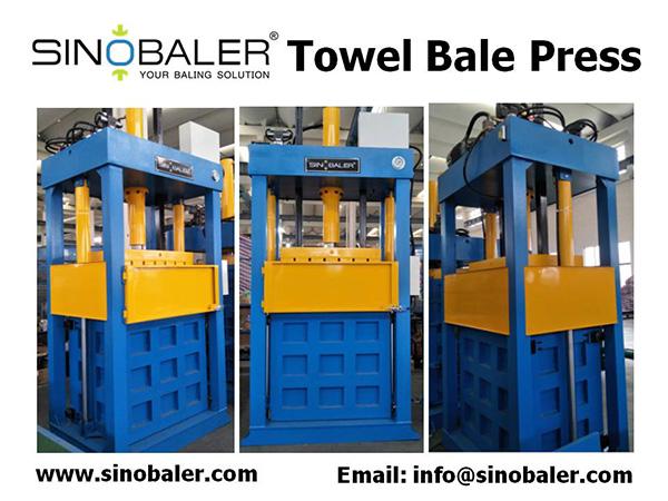 Towel Bale Press Machine