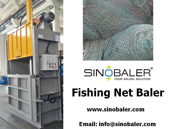 Fishing Net Baler Machine, Fish Nets Baler, Nylon Netting Baler - Sinobaler
