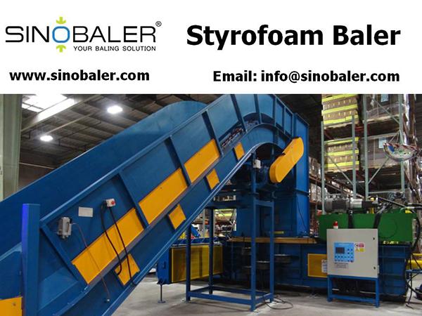 Styrofoam Baler Machine