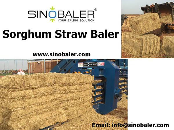 Sorghum Straw Baler Machine