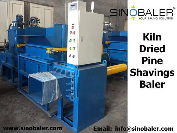Kiln Dried Pine Shavings Baler Machine