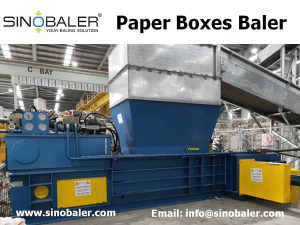Paper Boxes Baler Machine, Automatic Paper Boxes Baling Machine