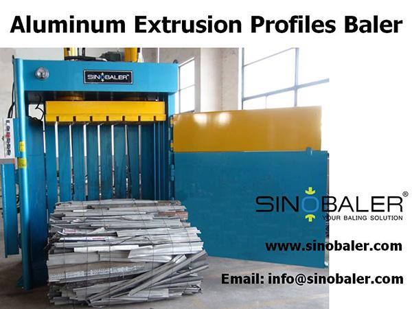 Aluminum Extrusion Profiles Baler Machine