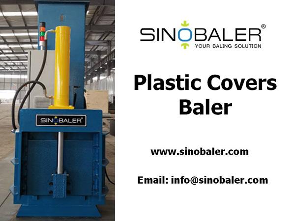 Plastic Covers Baler Machine