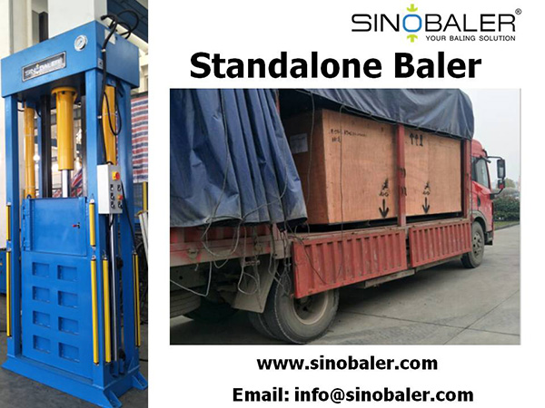 Standalone Baler Machine