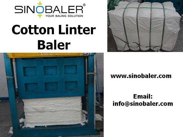 Cotton Linter Baler Machine