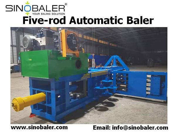 Five-rod Automatic Baler Machine