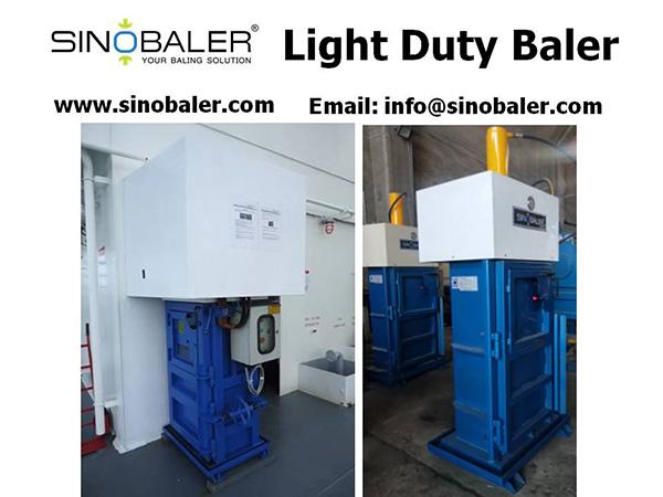 Light Duty Baler Machine