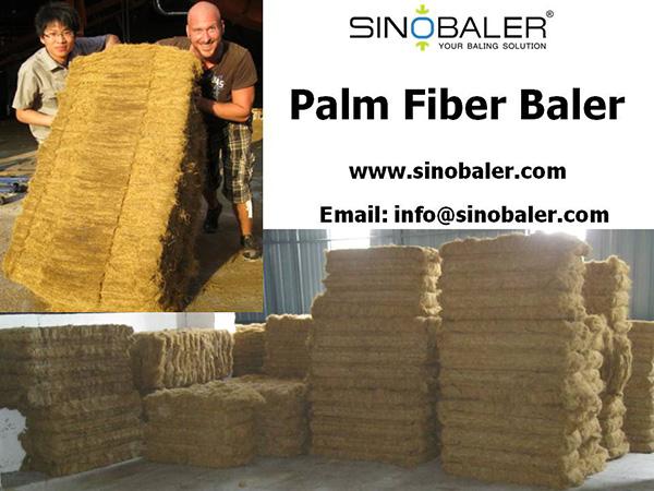 Palm Fiber Baler Machine
