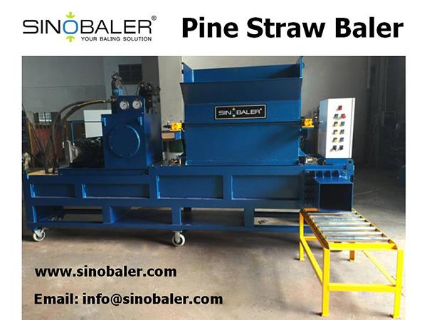 Pine Straw Baler Machine, Pine Straw Box Baler, Mobile Pine Straw Baling
