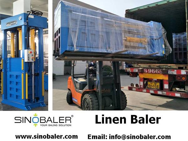 Linen Baler Machine