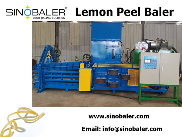 Lemon Peel Baler Machine, Lemon Peel Baling Press Machine - Sinobaler