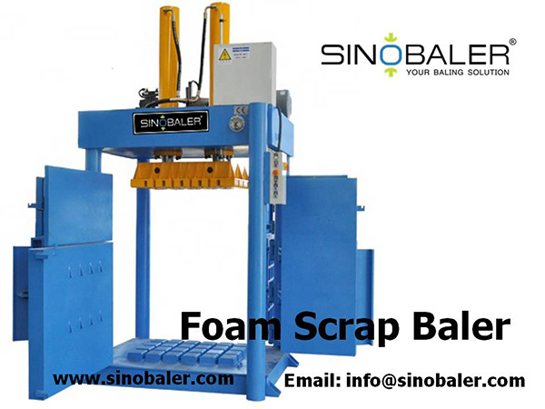 Foam Scrap Baler Machine