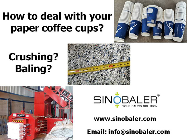 How to deal with your paper coffee cups