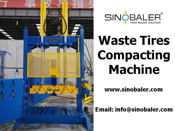 Waste Tires Compacting Machine