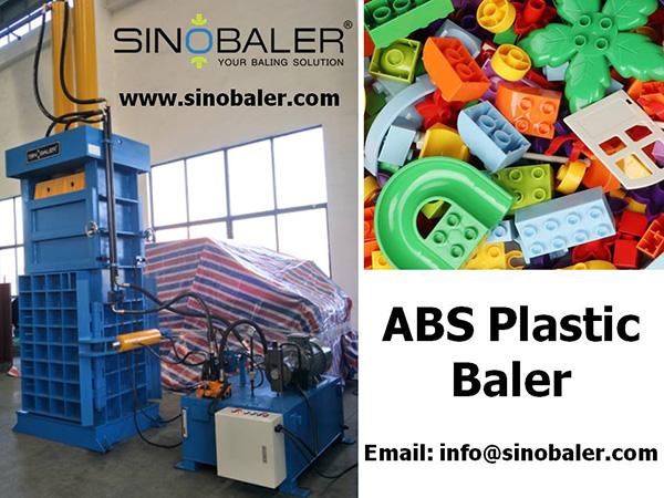 ABS Plastic Baler Machine