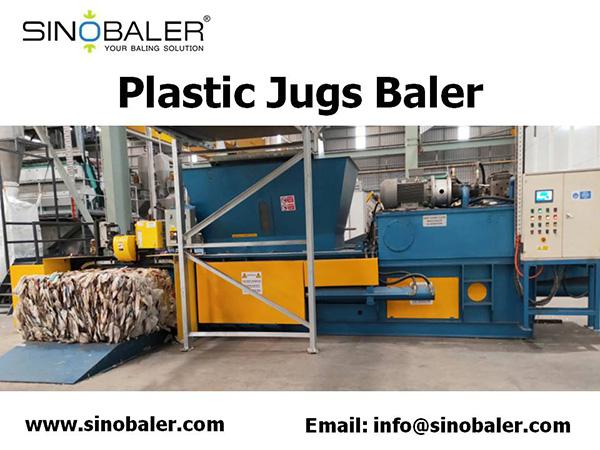 Plastic Jugs Baler Machine