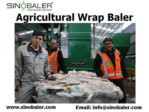 Agricultural Wrap Baler Machine