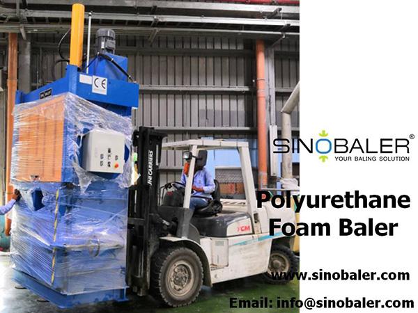 Polyurethane Foam Baler Machine