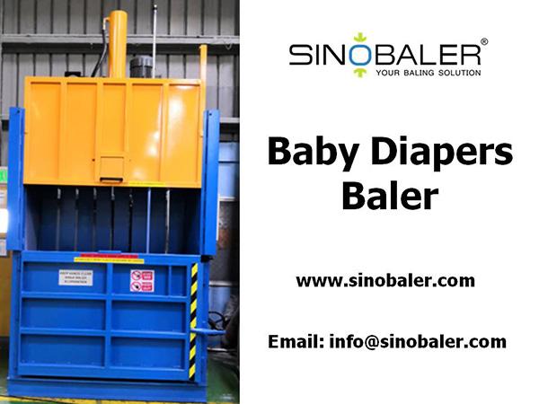Baby Diapers Baler Machine