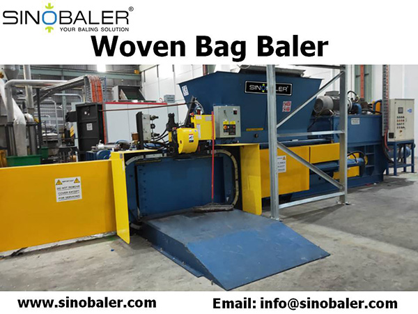 Woven Bag Baler Machine