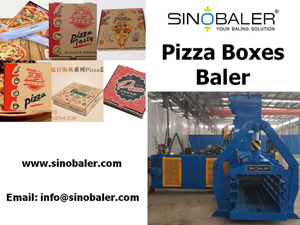 Pizza Boxes Baler Machine
