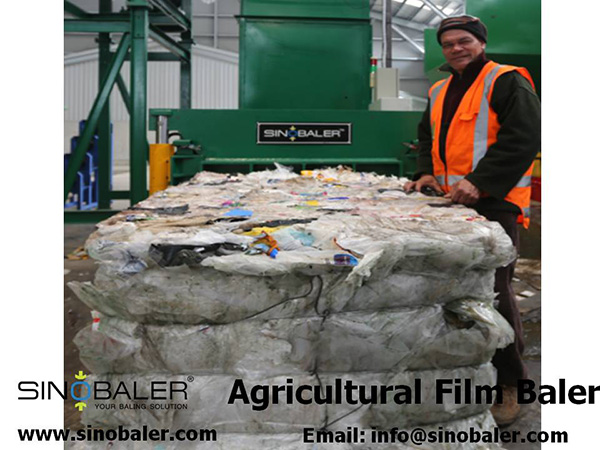 Agricultural Film Baler Machine