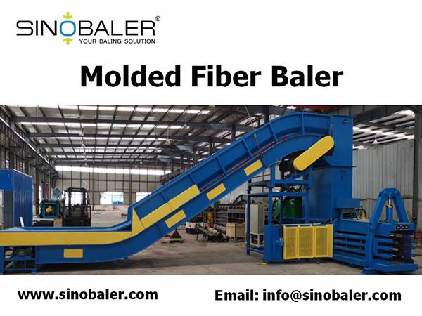 Molded Fiber Baler Machine