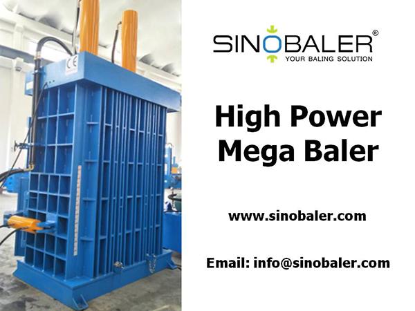 High Power Mega Baler Machine