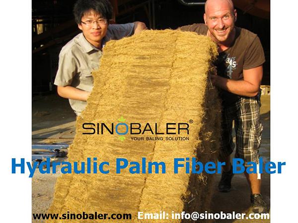 Hydraulic Palm Fiber Baler Machine