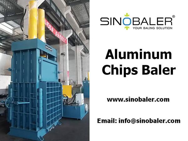 Aluminum Chips Baler Machine