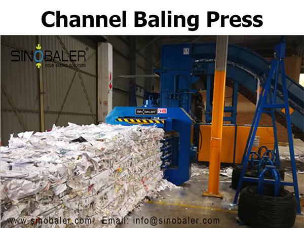 Channel Baling Press Machine