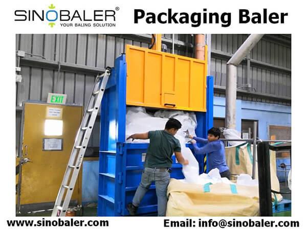 Packaging Baler Machine