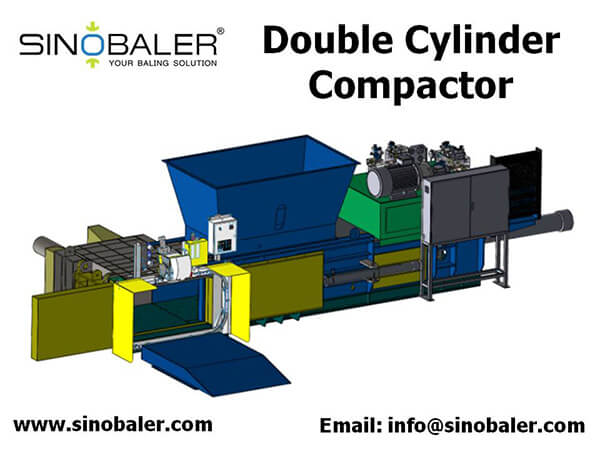 Double Cylinder Compactor Machine