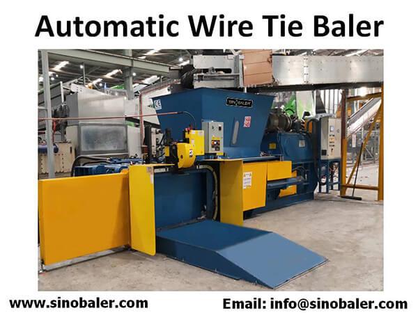 Automatic Wire Tie Baler Machine