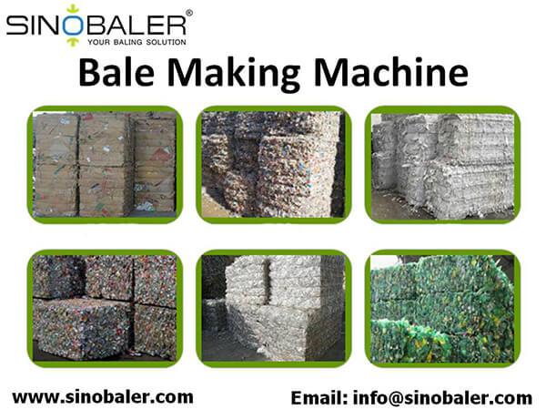 Bale Making Machine