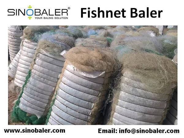 Fishnet Baler Machine