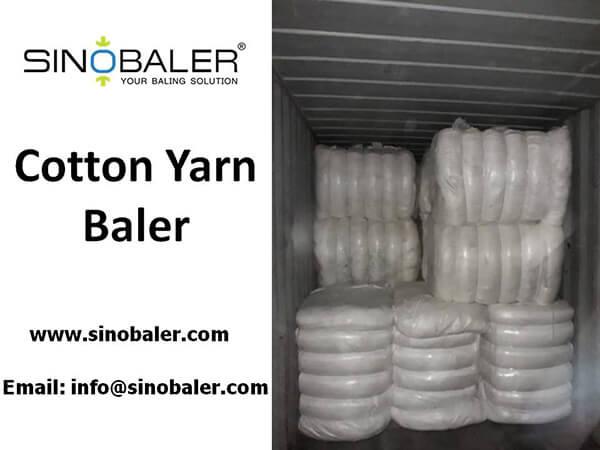 Cotton Yarn Baler Machine