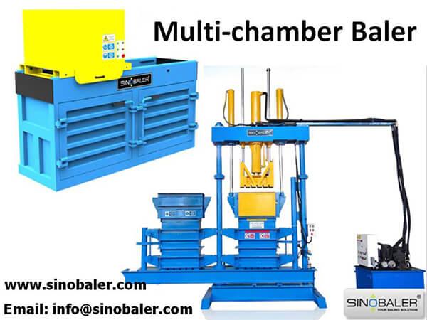 Multi-chamber Baler Machine