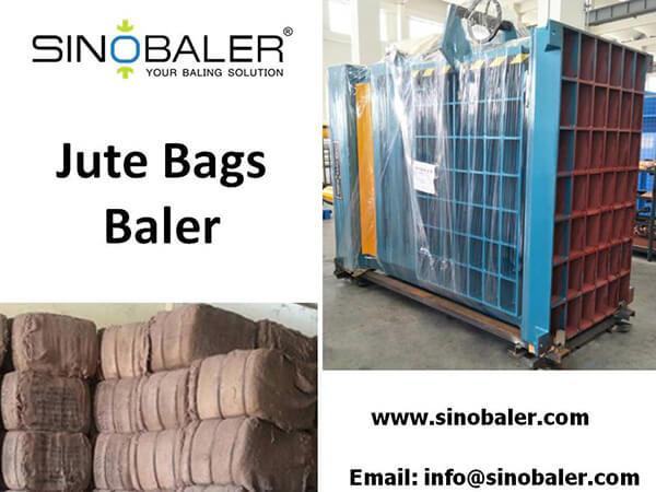 Jute Bags Baler Machine