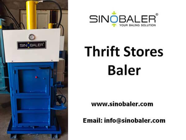 Thrift Store Baler Machine