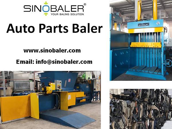 Auto Parts Baler Machine